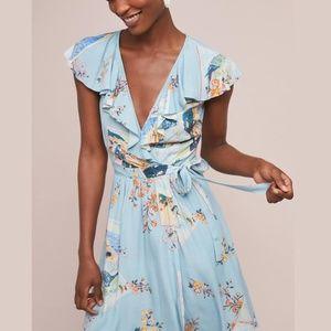 NWT Anthropologie Maeve 'Rosalia' wrap dress